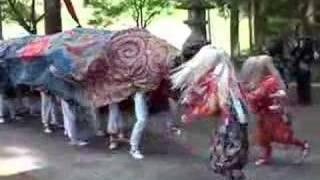 富山県南砺市(旧平村)下出獅子舞保存会