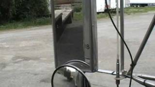 How to back up a tractor trailer