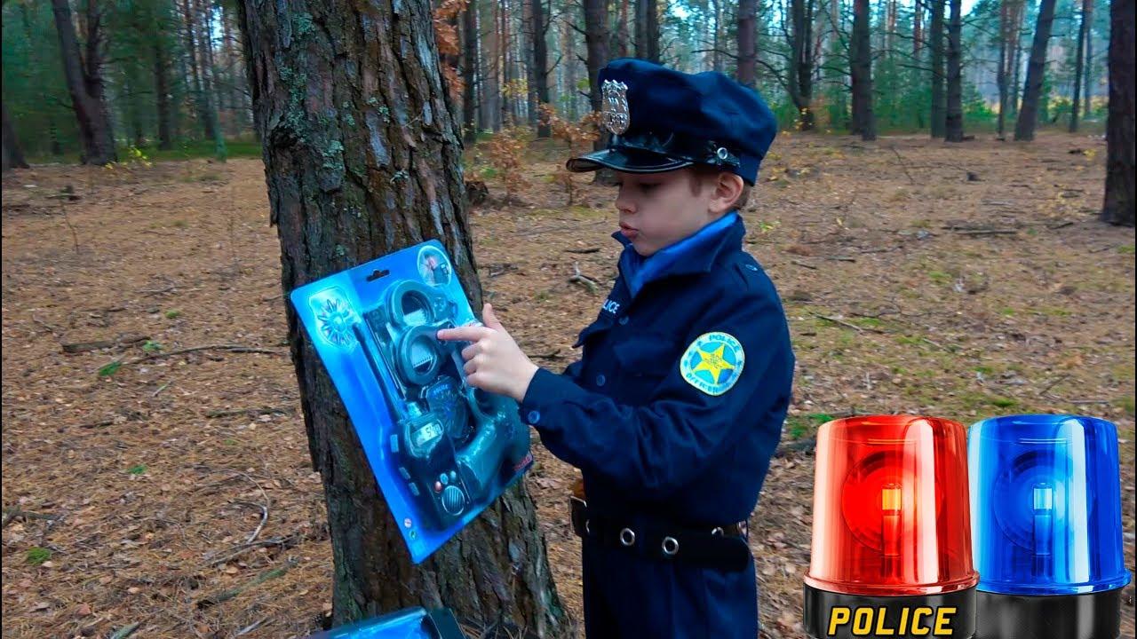 ПОЛИЦЕЙСКИЕ Игрушки для детей и Полицейский Даник против БАНДИТА
