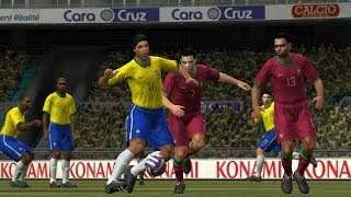 PES 2008 Juventus vs Barcelona Gameplay HD