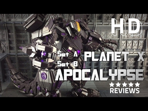 Planet X PX-11 Set A Set B Apocalypse Transformers War For Cybertron Trypticon