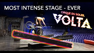 Training on Cirque du Soleil's CRAZIEST Stage - VOLTA