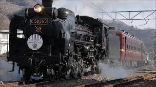 2019年02月23,24日秩父鉄道C58パレオエクスプレス&貨物