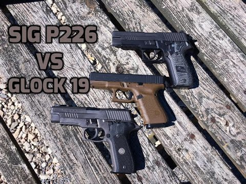 Sig P226 vs. Glock 19: Navy seals & The FBI
