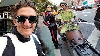 failzoom.com - STAR WARS SPEEDERS IN NYC making of!!