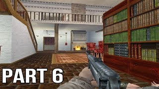 Medal of Honor Allied Assault Gameplay Walkthrough Part 6 - Manor House