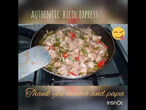 Authentic Bicol express (bicol philippines to united arab emirates )