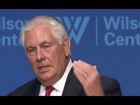 BREAKING: Secretary of State Rex Tillerson Gives EXPLOSIVE Speech on Global Diplomacy