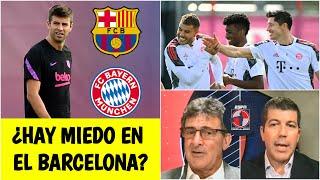 CHAMPIONS LEAGUE Barcelona vs Bayern Munich. Reviven fantasmas de la GOLEADA 8-2 | Fuera de Juego