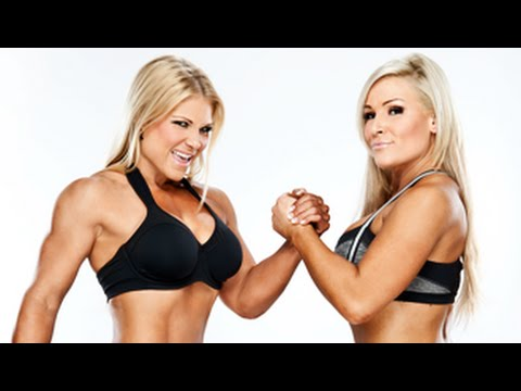 Beth Phoenix & Natalya Bikini Shots