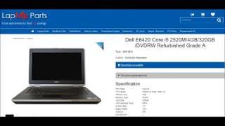 Dell E6420 Core i5 2520M/4GB/320GB/DVDRW Refurbished Grade A