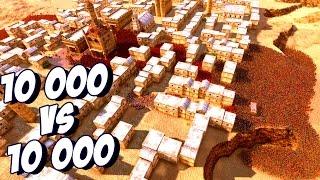 10 000 Спартанцев против 10 000 Римаских Легионеров! - Ultimate Epic Battle Simulator