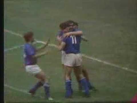 Italy Germany WC 1970 - amazing match