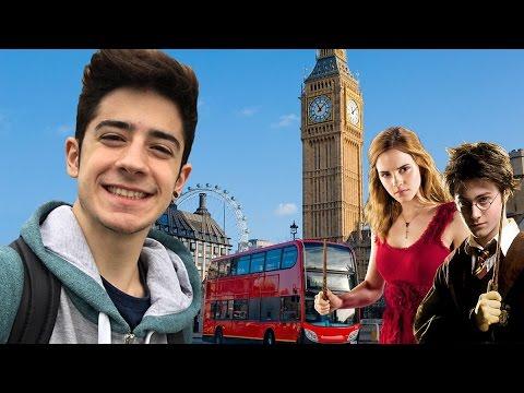 MI VIAJE A LONDRES Y A LOS ESTUDIOS DE HARRY POTTER | Kevsho