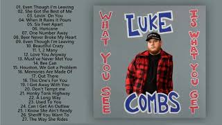 Best Songs Of Luke Combs ♥ Top Luke Combs Songs Playlist ♥ Country Music 2020