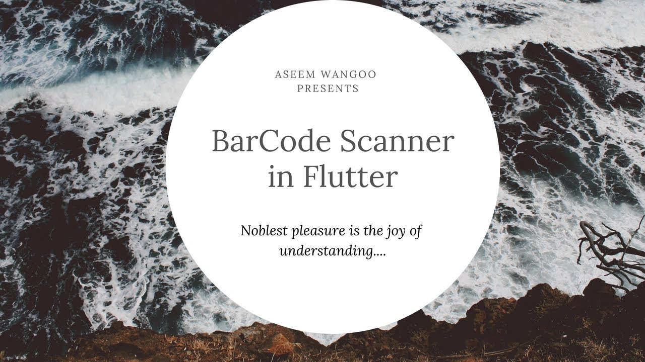 Barcode scanner in Flutter - FlutterPub - Medium