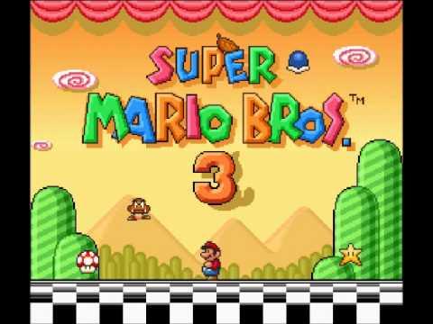 Super Mario Bros 3 OST - World 4 Map