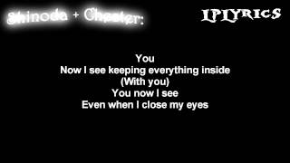 Linkin Park- With You [ Lyrics on screen ] HD