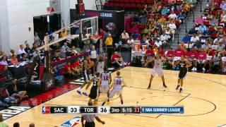 Sacramento Kings vs Toronto Raptors Summer League Recap