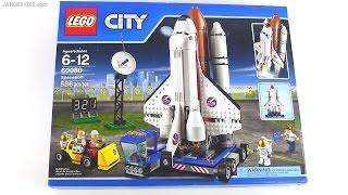 Built in 60 seconds: LEGO City Spaceport 60080