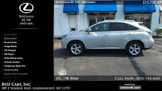 Used 2010 Lexus RX 350 | Rite Cars, Inc, Lindenhurst, NY