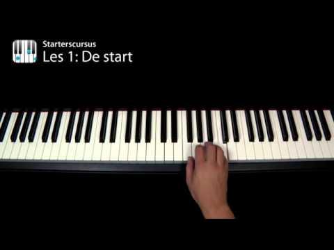 Piano leren spelen? (online video cursus pianoles)