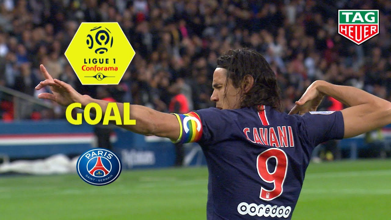 Goal Edinson Cavani 4 Paris Saint Germain Dijon Fco 4 0 Paris Dfco 2018 19 Youtube