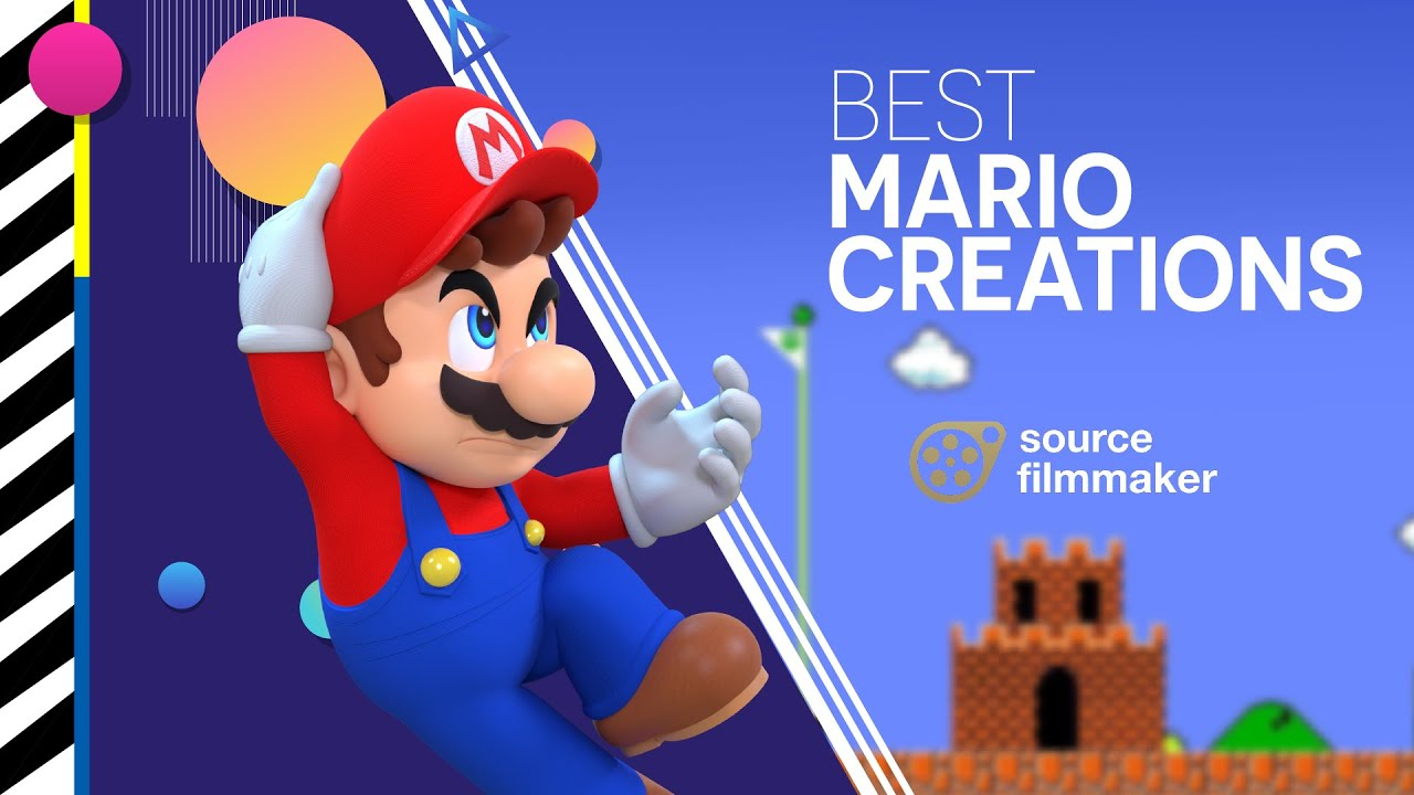 Best Mario Creations in SFM - This is a compilation of best Mario creations in Source Filmmaker, Probally, I will make a sequel, if you want to help me on it, send me a private message
