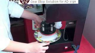 How To Print Image On Plate,heat Press Machine