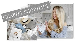 COME CHARITY SHOPPING THRIFTING WITH ME | Freya Farrington