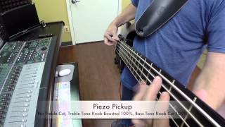 Ns Design Cr5 Radius Bass Guitar Demo