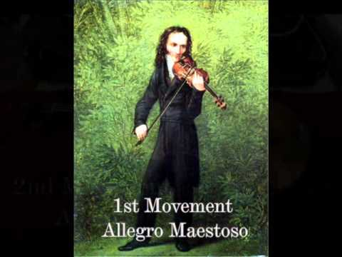 Paganini - Violin Concerto No. 1
