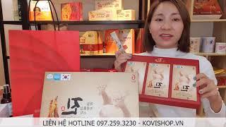 Nước Hồng Sâm Nhung Hươu KU của Hàn Quốc - Kovishop