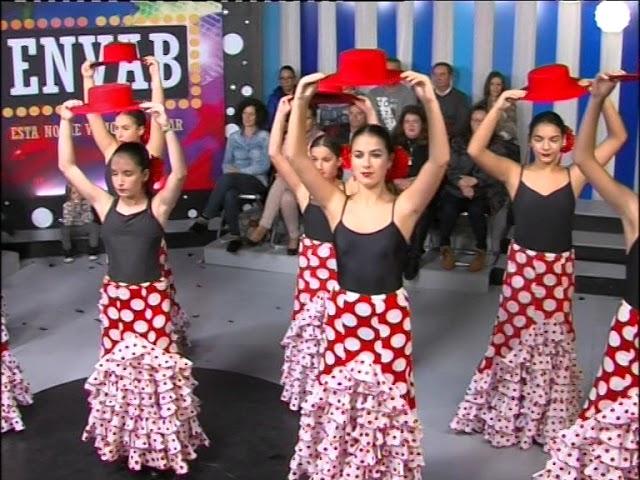Danza Española con la Escuela Estrymens 1 de Laredo