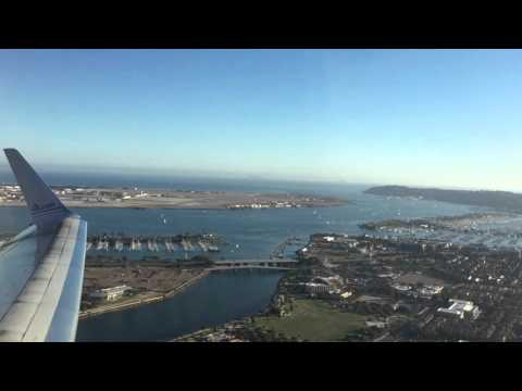 Take off from San Diego