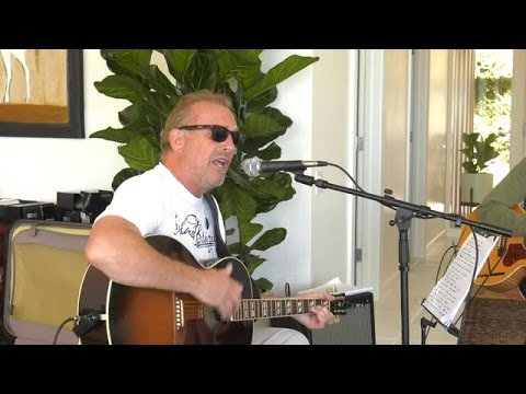 Kevin Costner & Modern West rehearsing for their Show April 22 - THE RANCH Fort Myers FL