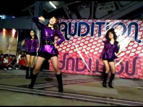 Vanity cover kara .. audition Hello Korea [lupin+jumping]