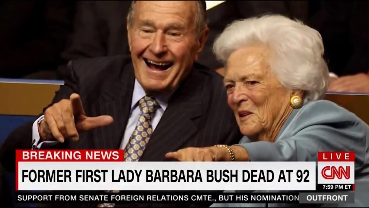 Former First Lady Barbara Bush Dead at 92 - YouTube