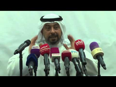 Press Conference Kuwait Olympic Committee : Sheikh Talal Al Sabah 22-10-2015