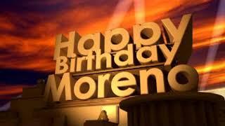Happy Birthday Moreno
