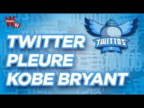 Twitter Pleure Kobe Bryant 🙏