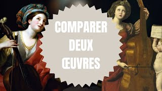 JE COMPARE DEUX OEUVRES ! (Sainte-Cécile)