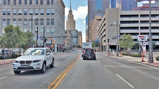 Driving Downtown - Dallas' Main Street 4K - USA
