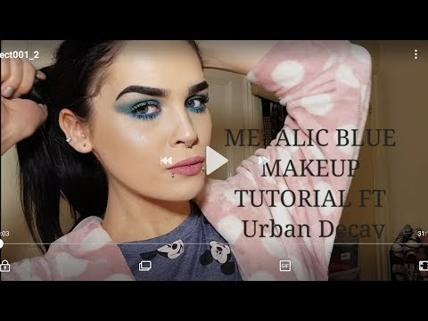 SEXY BLUE EYES Tutorial FT Urban Decay REVIEW