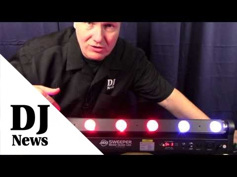 ADJ Sweeper Beam Quad LED Intro: By John Young of the Disc Jockey News