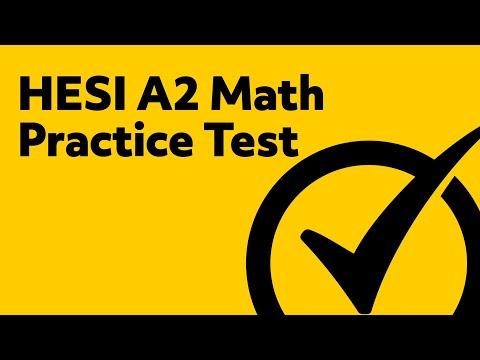 HESI Entrance Exam HESI Practice Test Math YouTube