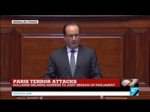 REPLAY - Watch French President Hollande's exceptional address to Congress after Paris Attacks
