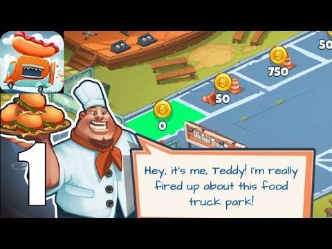 Idle Food Truck Tycoon ( IOS / Androi ) Gameplay #1 - Trailer