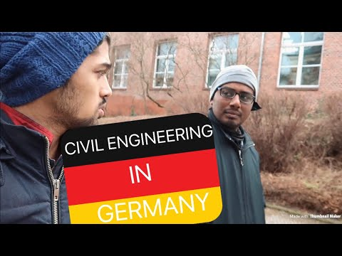 MASTER'S IN CIVIL ENGINEERING FROM GERMANY- TU DRESDEN