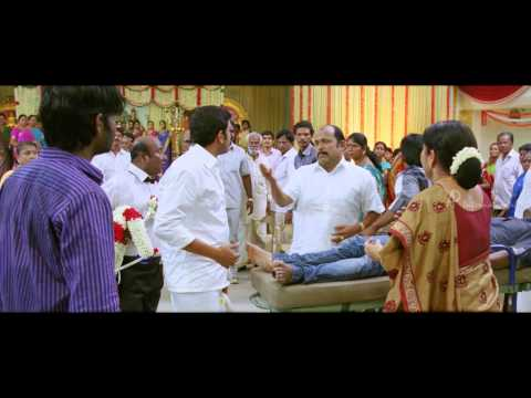 Vanavarayan Vallavarayan Tamil Movie Scenes   Ma Ka Pa Anand takes Kreshna's body to Marriage Hall